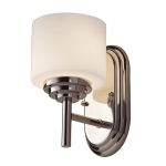 Elstead Malibu Single Polished Chrome Wall Light